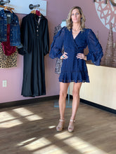"""Windsor"" Pom Pom Long Sleeve Dress - Moxie a sass + class boutique 