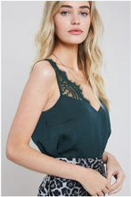 """Passion"" Lace Trim Cami"