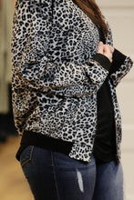 """The Bomb"" Animal Print Bomber Jacket"