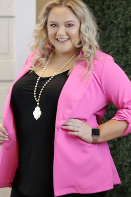 """Trail"" Blazer - Moxie a sass + class boutique 