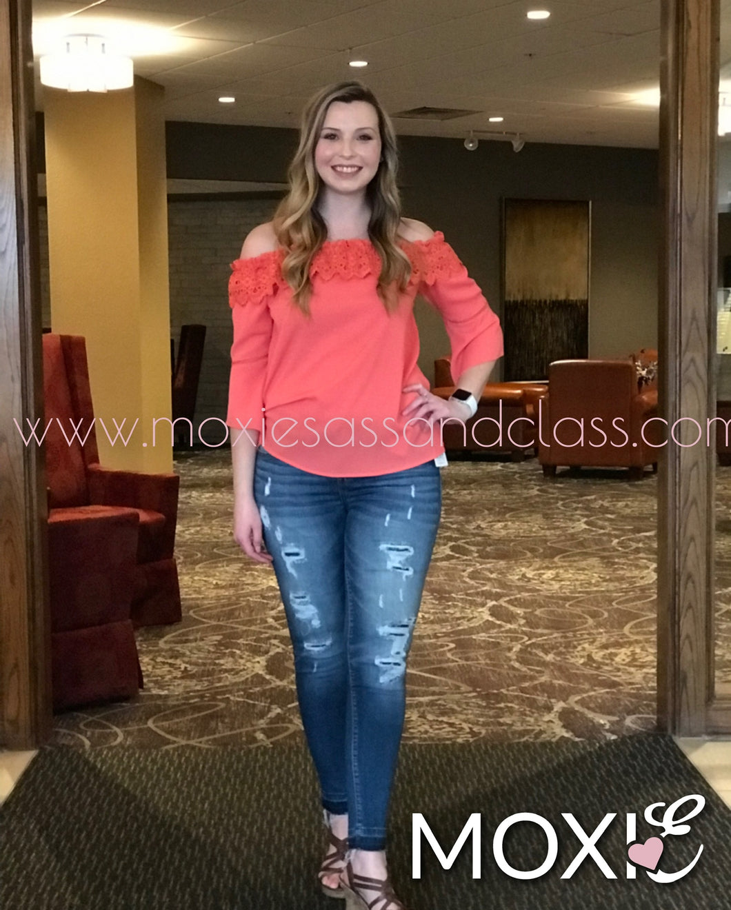 SALMON LUCY TOP