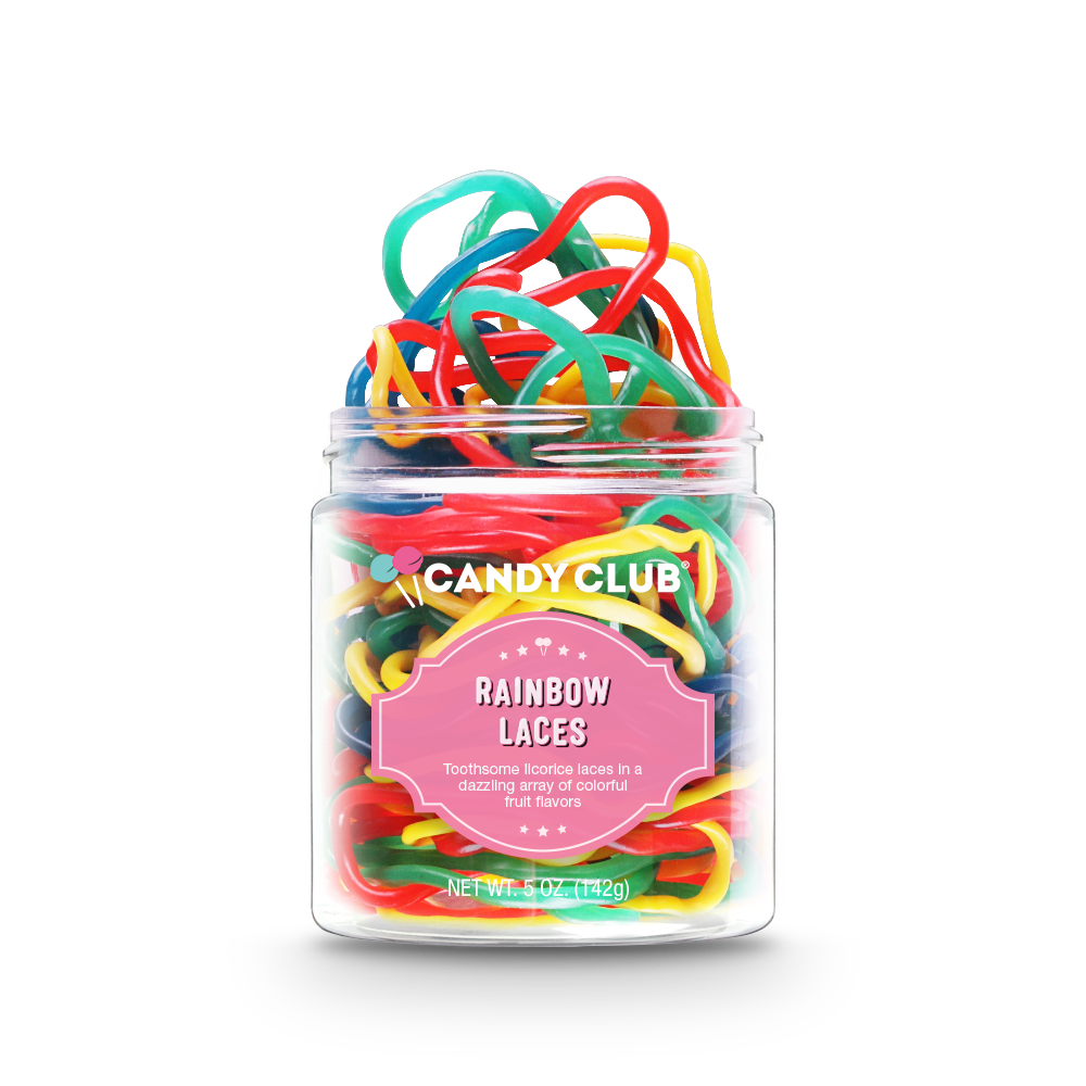 Candy Club Rainbow Laces Candy