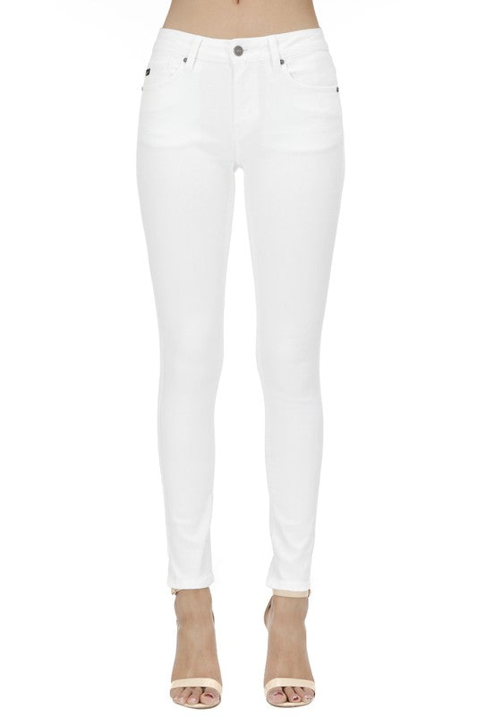 SNOW DAY WHITE SKINNY JEANS
