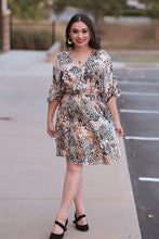 Boston Snake Print Mini Dress
