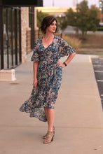 Tanqueray Floral Hi Low Dress