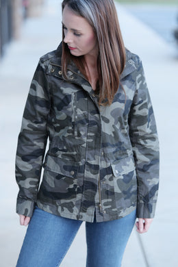 SeeMeNow Fitted Camo Jacket