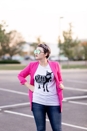 BADAss Graphic T-Shirt - Moxie a sass + class boutique Wichita Boutique