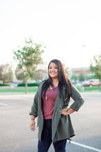 """Lane"" Flap Pocket Jacket - Moxie a sass + class boutique Wichita Boutique"