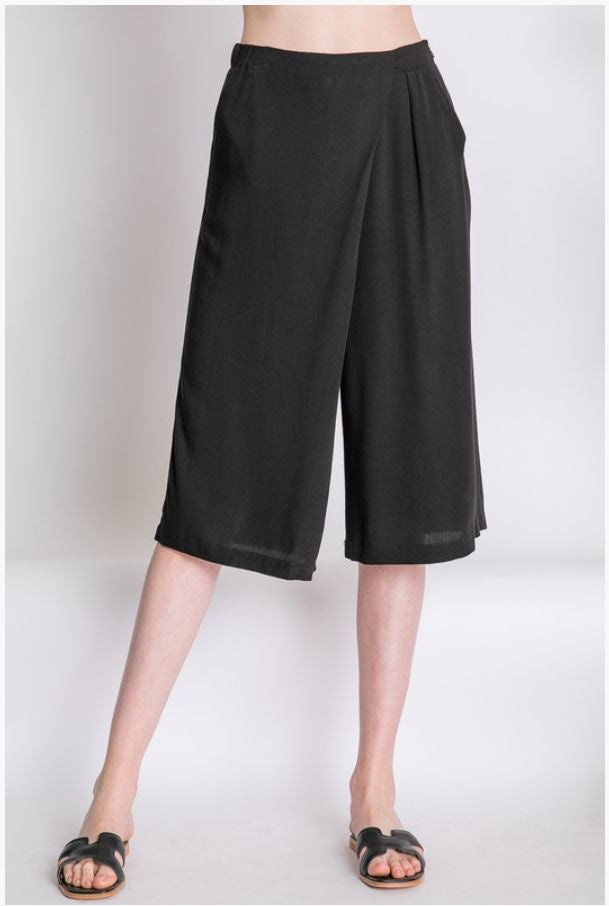 Wide Leg Pants Culotte - Moxie a sass + class boutique
