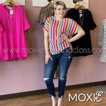 Twister Coloful Amanda Top - Moxie a sass + class boutique | Wichita, KS