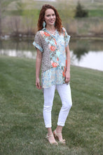 Blossom Sheer Tunic