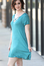 Peacock T-Shirt Dress