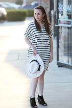 Rainn Striped T-Shirt Dress