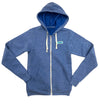 Anchor Beach Fleece Hoodie Zip
