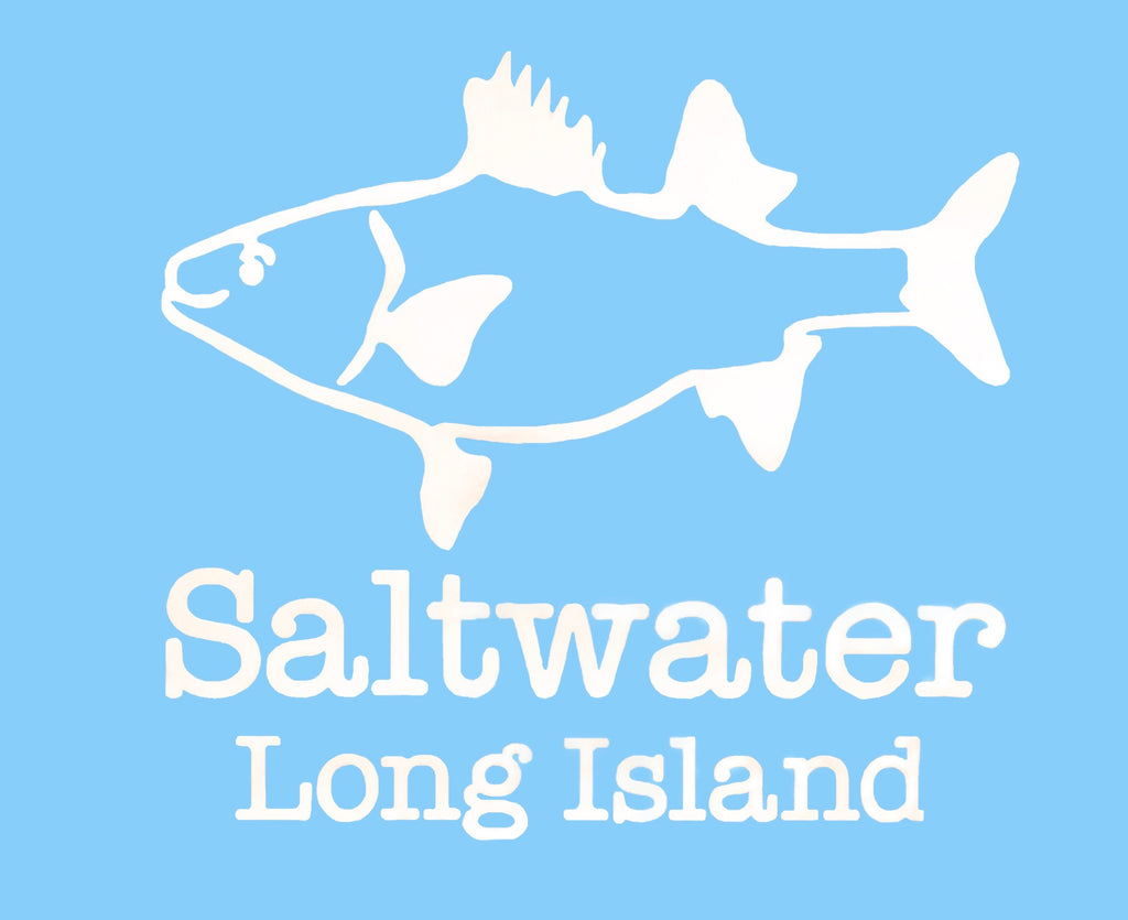 Saltwater Long Island Fish Decal