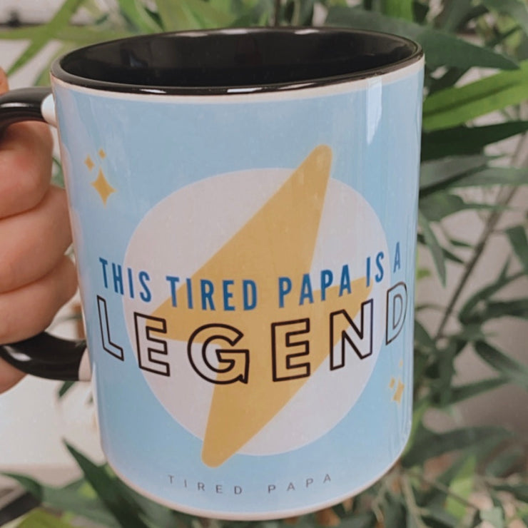 This Tired Papa is a LEGEND Mug