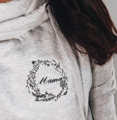Floral Mama Embroidery Design
