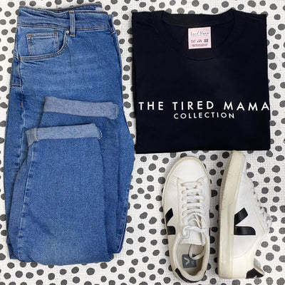 The Tired Mama Collection Tee