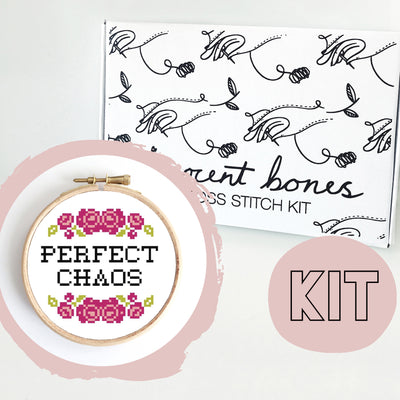 Perfect Chaos Cross Stitch Kit