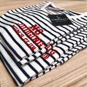 No Judging Mum's Club Stripe Tee