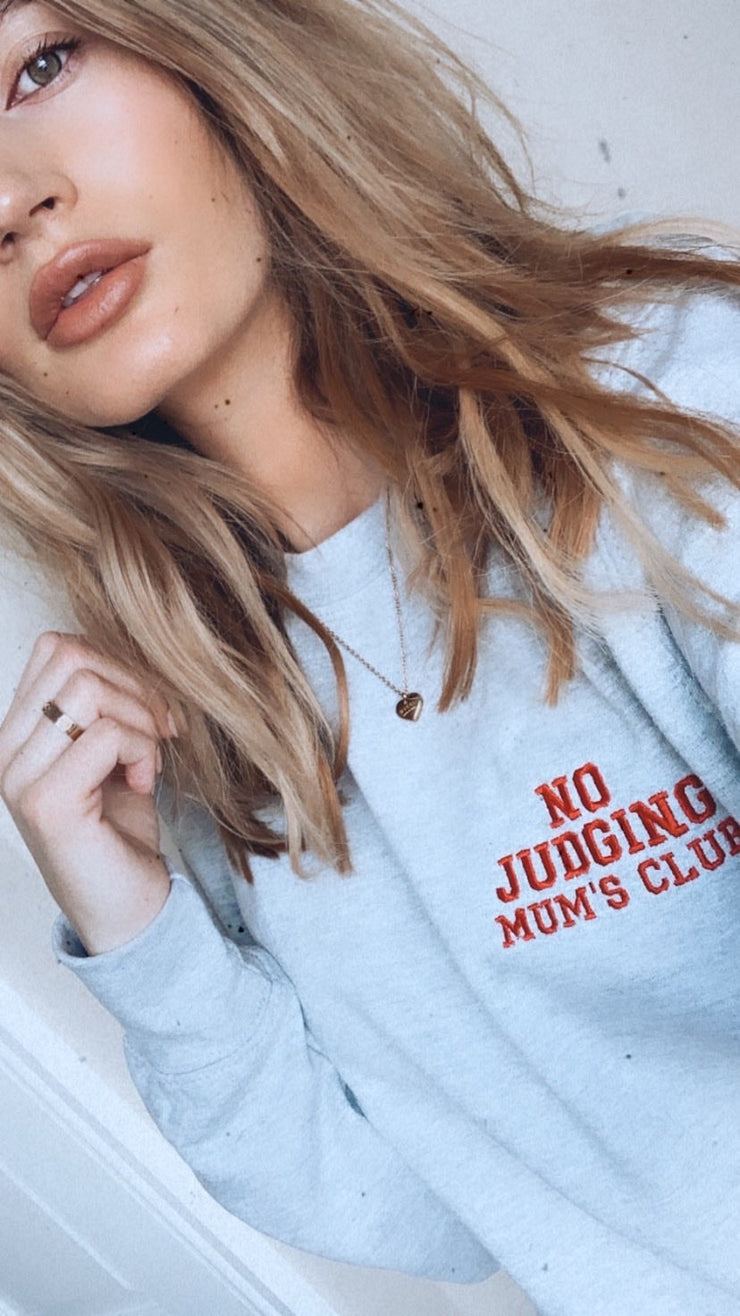 No Judging Mum's Club Jumper
