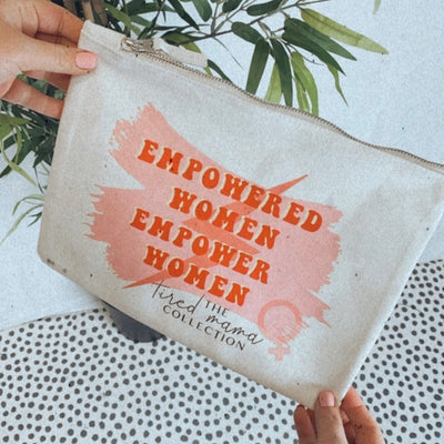Empowered Women Make Up Pouch