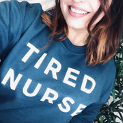 TIRED NURSE Jumper | NHS CHARITIES TOGETHER FUNDRAISER