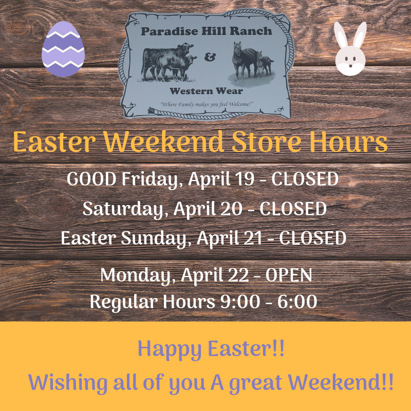 Easter Weekend Store Hours