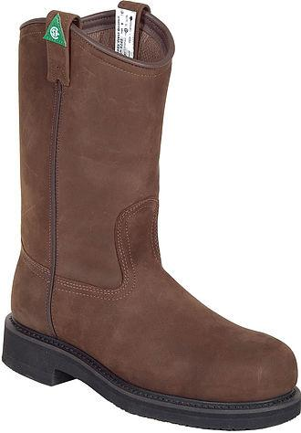 CL09-020-1461-0872-11 EE-Brown Roper Mens Workboot Pull On