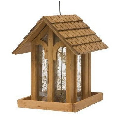 HG850172D Bird Feeder Mountain Chapel Wood