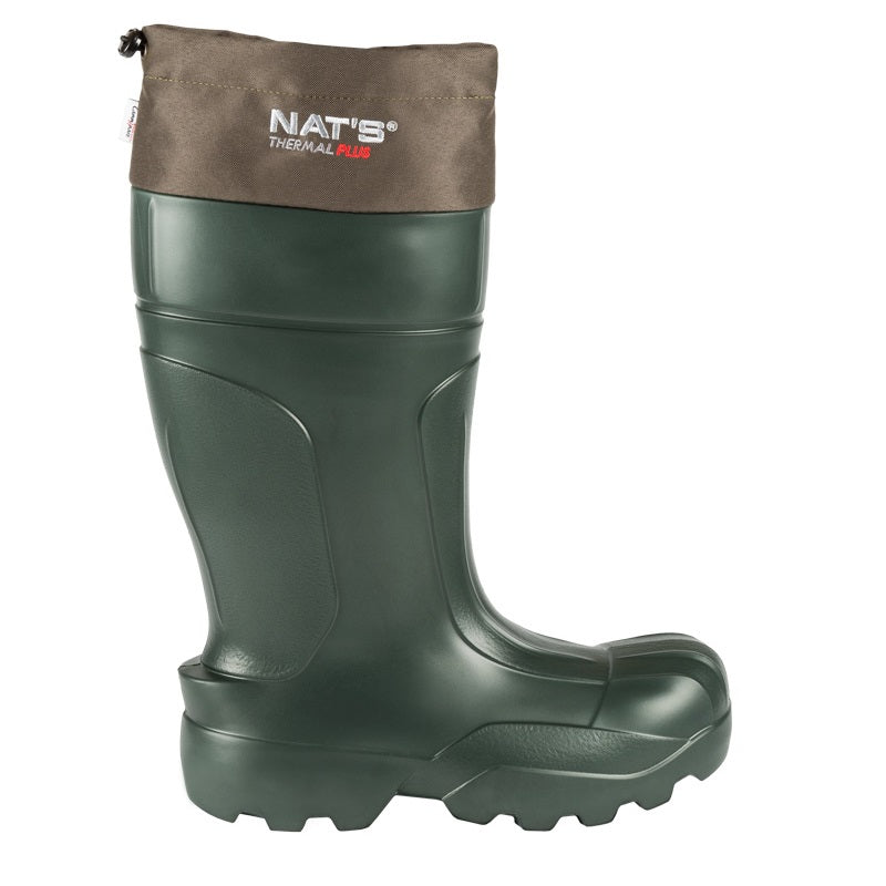 "CL1590-9-Green Boots Nat's ""Thermal Plus"" -70C w/Liner"