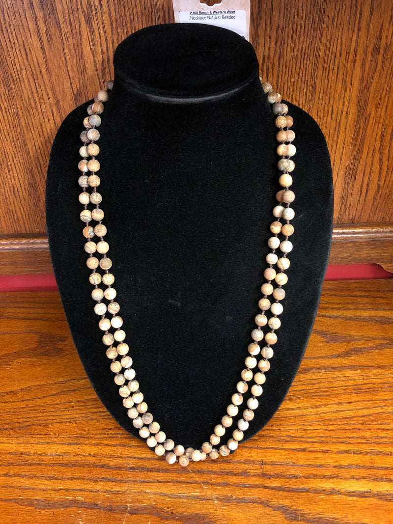 BGN01630N Necklace Natural Beaded