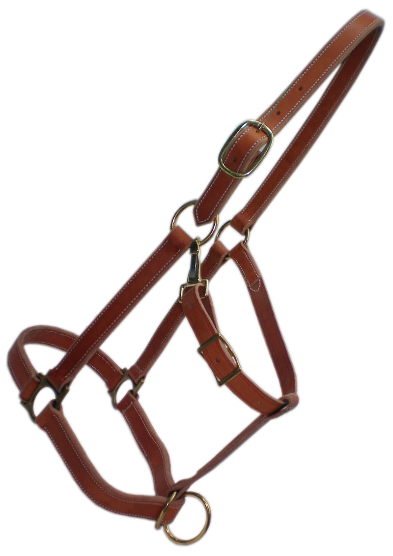 TK245BR-REG-Brown Halter Regular Nose Horse