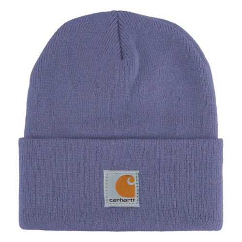 CLCB8905-Youth-Purple Carhartt Kids Acrylic Watch Hat