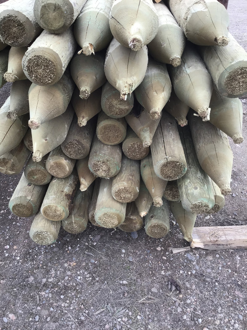 "FE457 Posts 4-5""x 7' Treated L&M"
