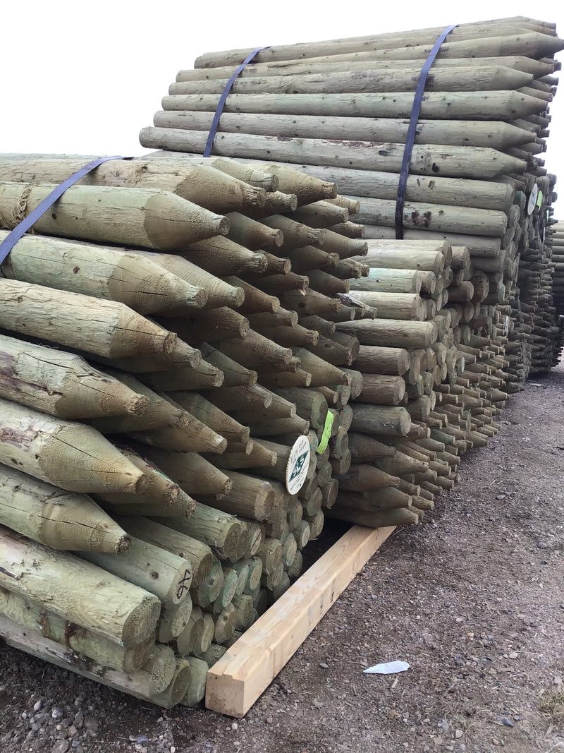 "FE346 Bundle L&M Posts 3-4""x 6' Treated  BUNDLE (120) $4.30"