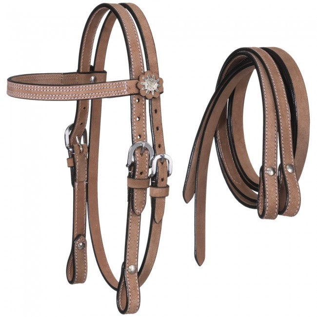 TK42-1908 Bridle Mini Roughout w/Reins