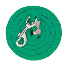TK35-2101-S46-Green Lead Rope 10' CB 225 Poly
