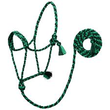 TK35-7825-Average-Green Halter Braided UV Rope w/Lead
