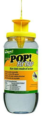 HG786-007 Fly Trap Rescue Reusable-Pop