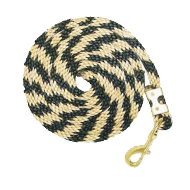 TK7003 Lead Rope PolyPro Premium w/Bolt Snap Ass'd Colours
