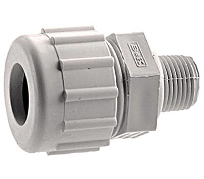 "LE3110-0005584 3/4""Compression - PVC Male Adapter - Strain Relief"