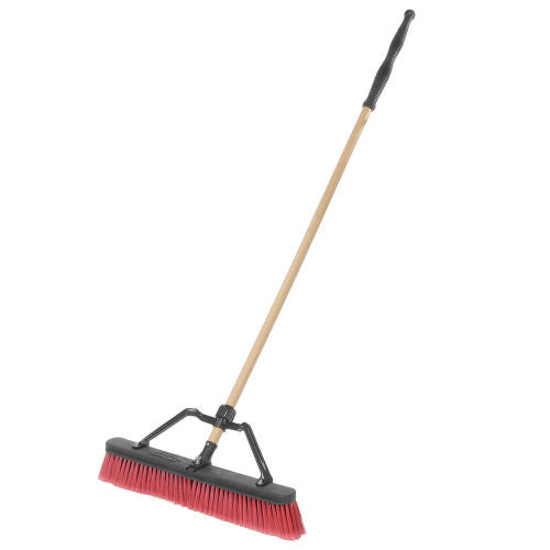 "HGBR216RB24 Broom Push 24"" Combination w/Brace"