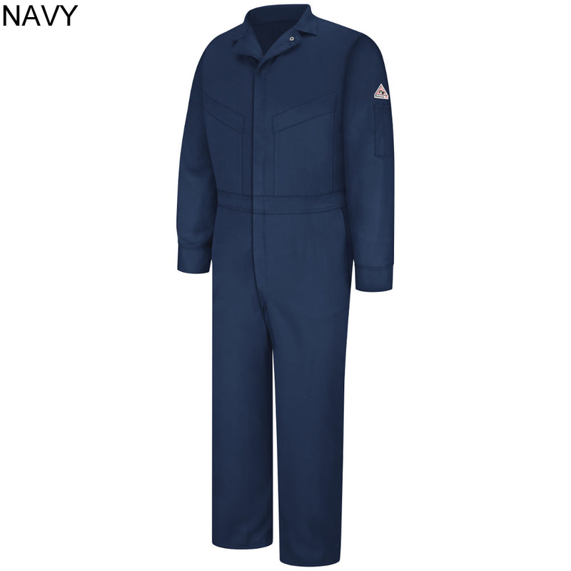 CL776011-M-NAVY Coveralls Insulated Deluxe 6oz