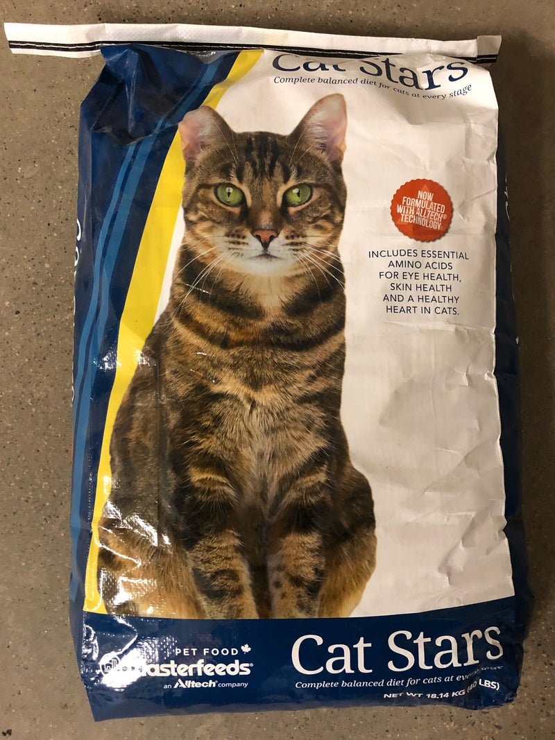 FSSTARS Cat Food Cat Stars 40lb bag
