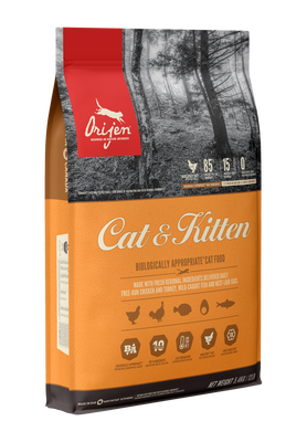 FSC402-28054 Orijen CAT & Kitten Food  5.4kg