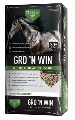 FSGROWNWIN BUCKEYE Gro'N Win Pellets BAG 50lb