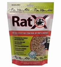 HGEC620117 Rat Rid Rodenticide Pellets 500gm