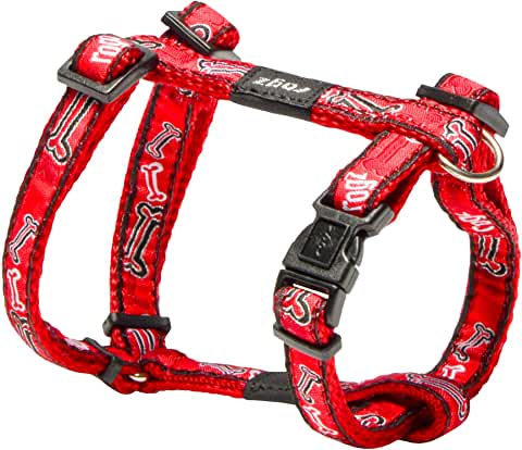 "PSD598-02682-SMALL-Red Dog Harness ROGZ ""Jelly Bean"""