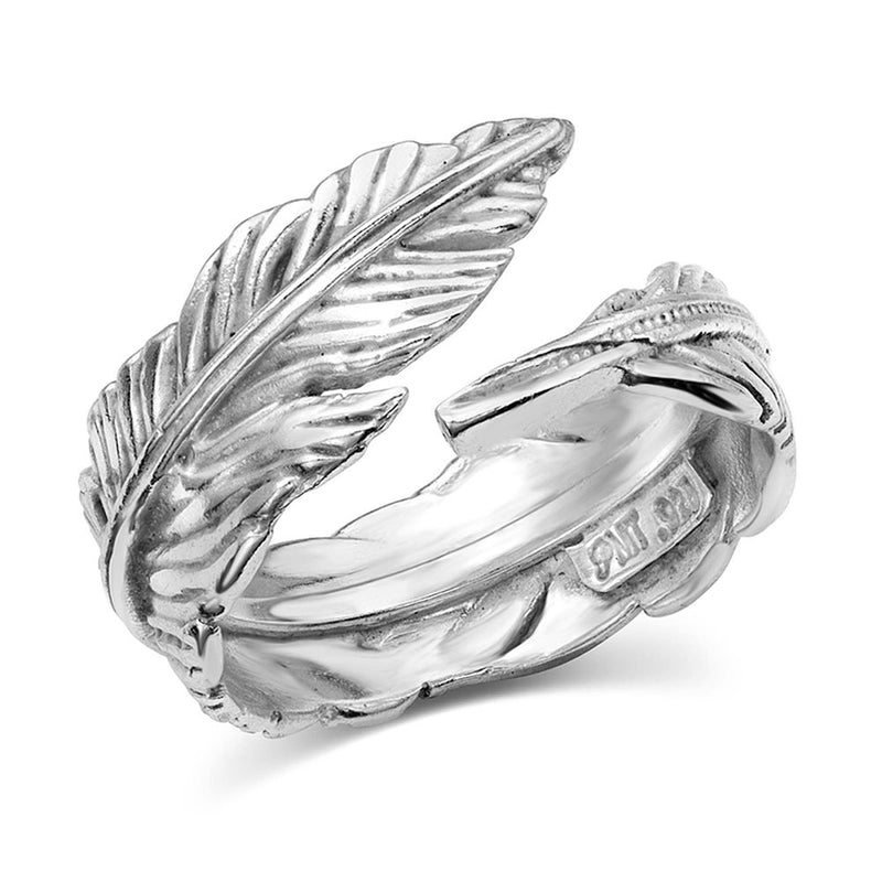 BGRG4383-6 Ring - Feather